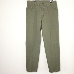 Levi's 550 Relaxed Fit Tapered Leg Denim Green 14